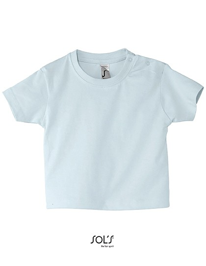 Baby T-Shirt Mosquito - Kinderbekleidung - Baby Shirts & Hosen - SOL´S Baby Blue