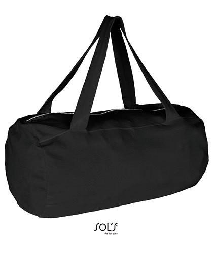 Laguna Barrel Bag - Freizeittaschen - Freizeit-Umhängetaschen - SOL´S Bags Black