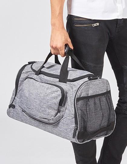 Allround Sports Bag - Boston - Freizeittaschen - Sport- & Reisetaschen - Bags2GO Grey Melange