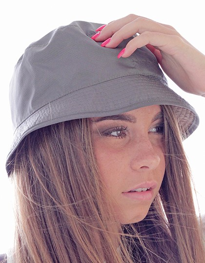 Bucket Pocket Hat - Caps - Hüte - Atlantis Black - Grey