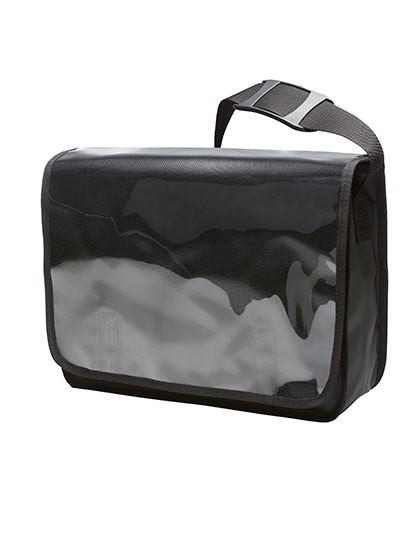 Shoulder Bag Display - Freizeittaschen - Freizeit-Umhängetaschen - Halfar Black Matt