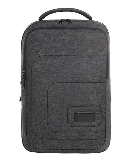 Notebook Backpack Frame - Halfar Black - Grey-Sprinkle
