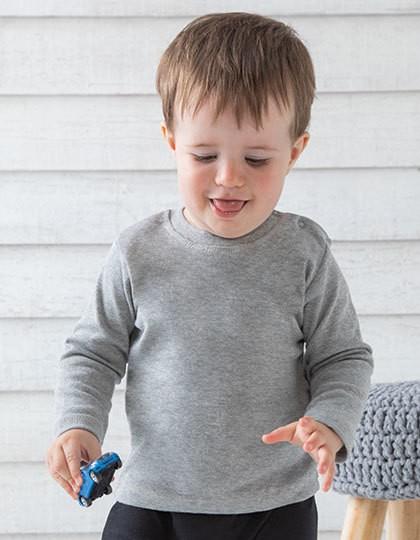 Baby Long Sleeve T - Kinderbekleidung - Baby Shirts & Hosen - Babybugz Black
