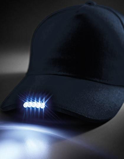 LED Light Cap - Caps - 5-Panel-Caps - Beechfield Black