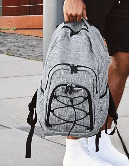 Outdoor Backpack - Rocky Mountains - Rucksäcke - Freizeit-Rucksäcke - Bags2GO Grey Melange