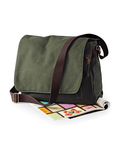 Vintage Canvas Despatch Bag - Businesstaschen - Umhängetaschen - Quadra Sahara