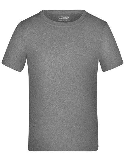 Active-T Junior - Sports & Activity - Basic Sport Shirts - James+Nicholson Acid Yellow