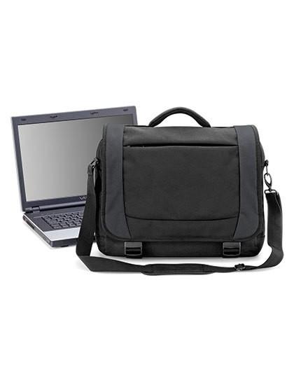 Tungsten™ Laptop Briefcase - Businesstaschen - Laptop-Taschen - Quadra Black - Dark Graphite