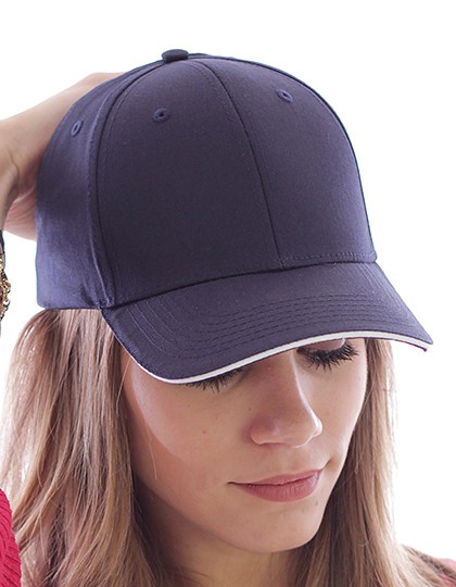 Sport Sandwich Cap - Caps - 6-Panel-Caps - Atlantis Black - Black