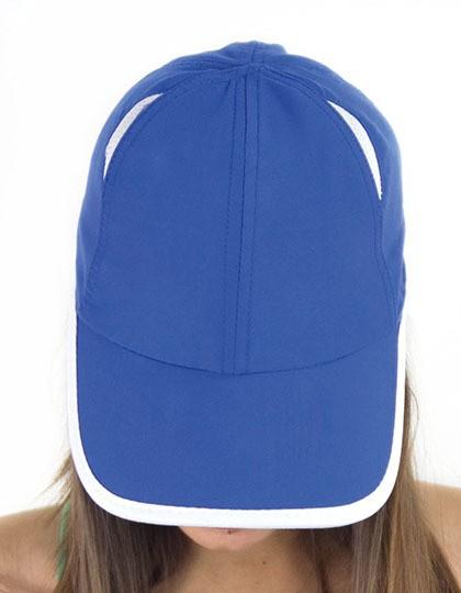 Gym Cap - Caps - Netz- & Sport-Caps - Atlantis Black - Grey