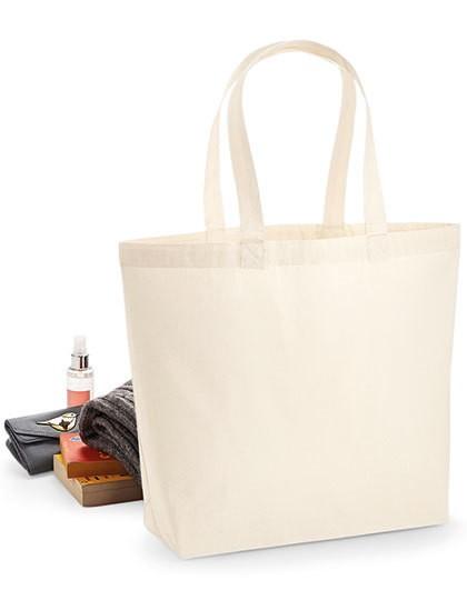 Premium Cotton Maxi Bag - Baumwoll- & PP-Taschen - Baumwolltaschen - Westford Mill Black