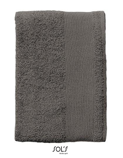 Guest Towel Island 30 - Frottierwaren - Handtücher - SOL´S Black