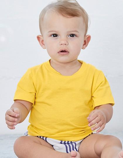 Baby Jersey Short Sleeve Tee - Kinderbekleidung - Baby Shirts & Hosen - Canvas Asphalt (Solid)