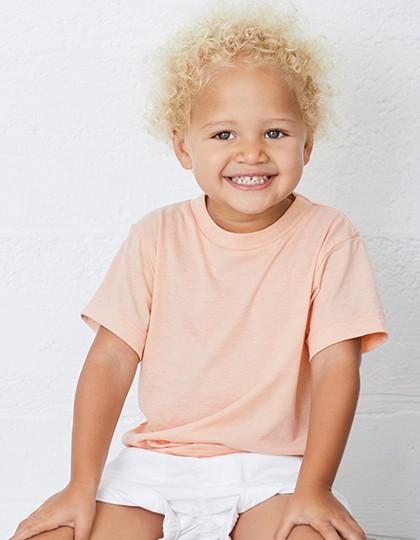 Toddler Triblend Short Sleeve Tee - Kinderbekleidung - Baby Shirts & Hosen - Canvas Blue Triblend (Heather)