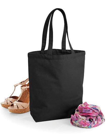Fairtrade Cotton Camden Shopper - Baumwoll- & PP-Taschen - Baumwolltaschen - Westford Mill Black