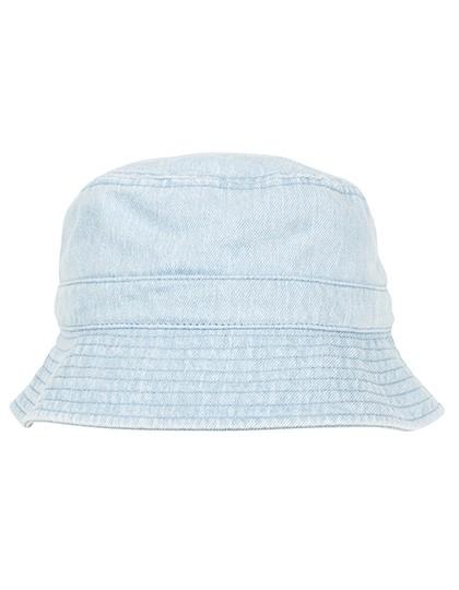 Denim Bucket Hat - FLEXFIT Black - Grey