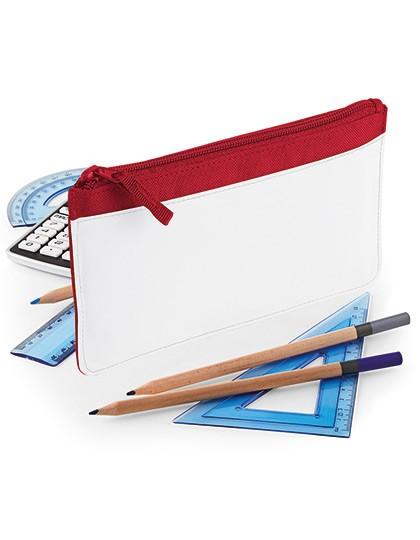 Sublimation Pencil Case - Sublimationstextilien - Sonstiges - BagBase Black