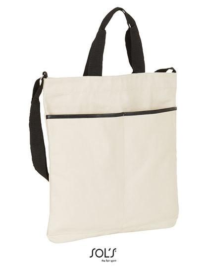 Vendôme Shopping Bag - Freizeittaschen - Einkaufstaschen - SOL´S Bags Black