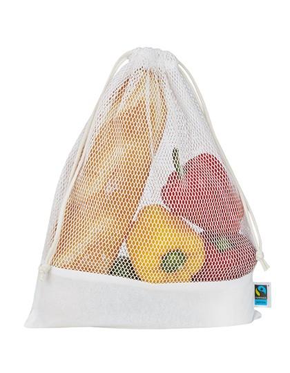 Vegetable Mesh Bag - Printwear White