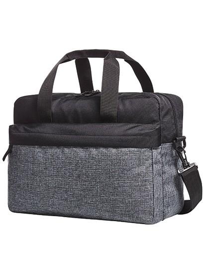Shoulder Bag Elegance - Halfar Black - Grey-Sprinkle