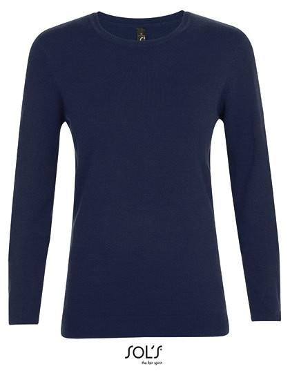 Ginger Women Sweater - Pullover & Strickwaren - Pullover - SOL´S Black