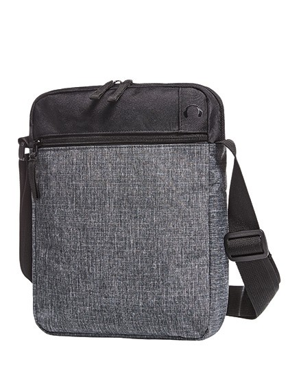 Crossbag Elegance - Halfar Black - Grey-Sprinkle