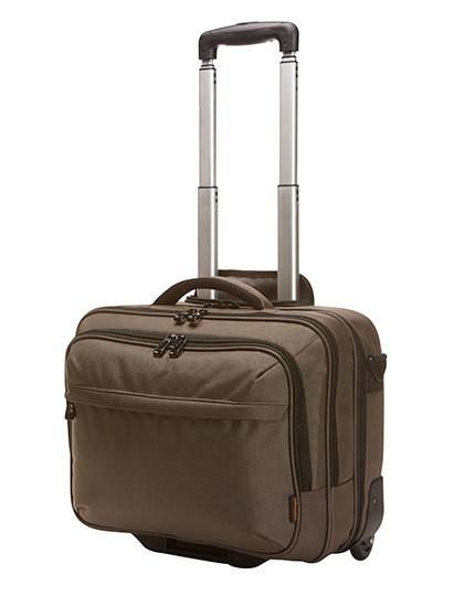 Business Trolley Mission - Businesstaschen - Business-Reisetaschen - Halfar Beige