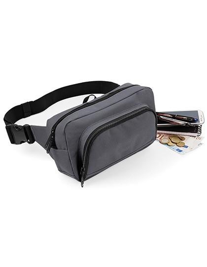 Organiser Waistpack - Freizeittaschen - Hüfttaschen - BagBase Black