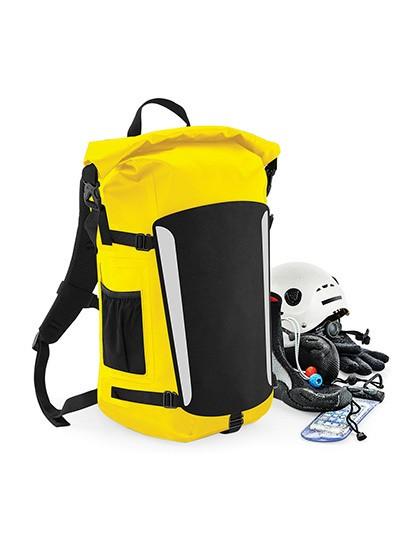 SLX® 25 Litre Waterproof Backpack - Rucksäcke - Freizeit-Rucksäcke - Quadra Black - Black
