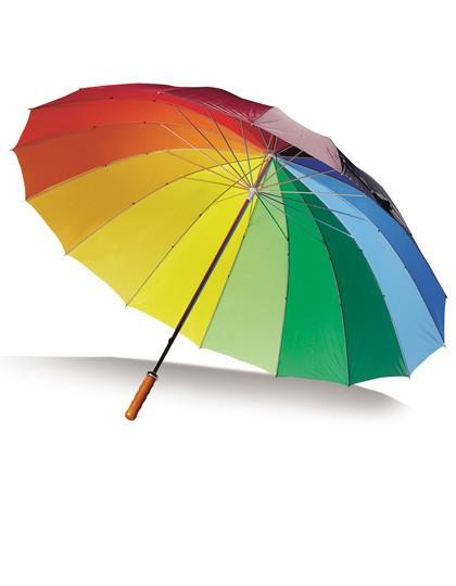 Portierschirm 16 Segmente - Schirme - XL-Schirme (ab Ø 120 cm) - Printwear Coloured