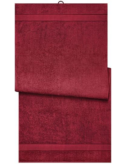 Bath Sheet - Myrtle beach Red