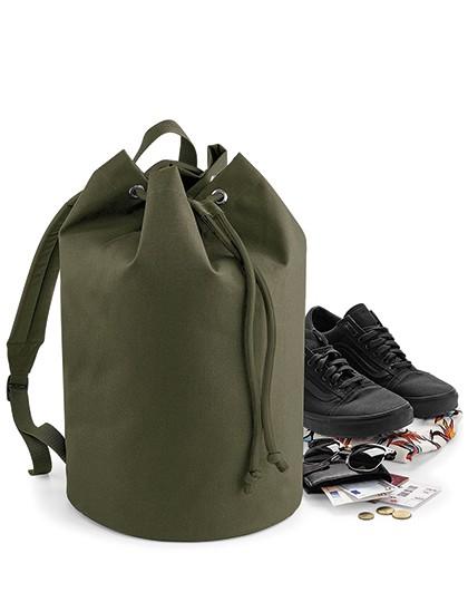 Original Drawstring Backpack - Rucksäcke - Freizeit-Rucksäcke - BagBase Black