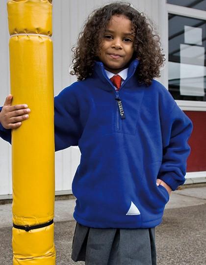 Junior Polartherm™ Top - Kinderbekleidung - Kinder Fleece - Result Black