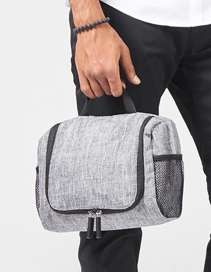 Wash Bag - Hawaii - Freizeittaschen - Sport- & Reisetaschen - Bags2GO Grey Melange