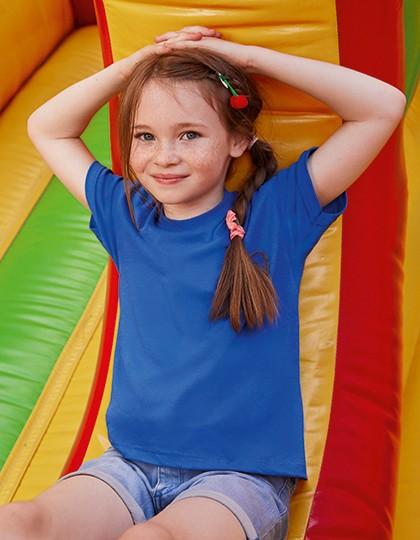 Kids Original T - Kinderbekleidung - Kinder T-Shirts - Fruit of the Loom Azure Blue