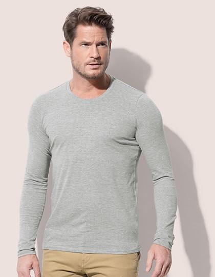 Clive Long Sleeve - Fashion T-Shirts - Langarm - Stedman® Black Opal