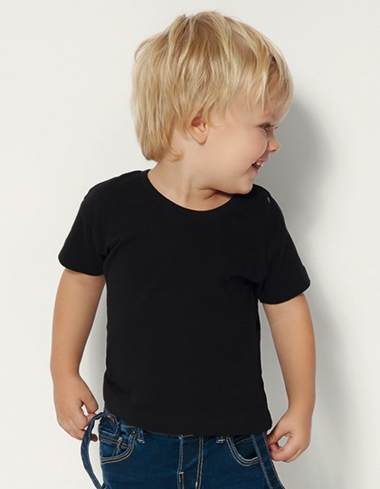 Baby T-Shirt - Kinderbekleidung - Baby Shirts & Hosen - Nath Black