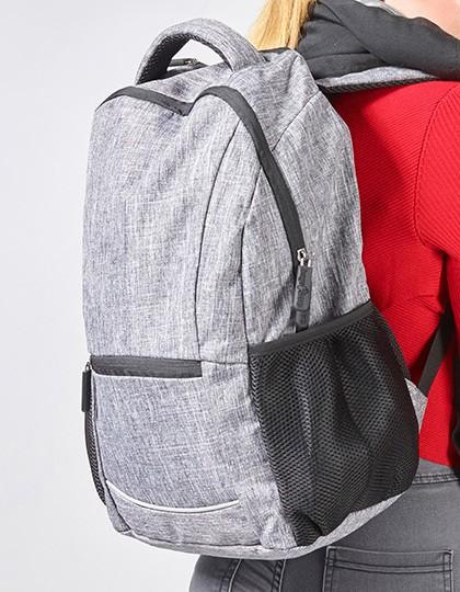 Daypack - Wall Street - Rucksäcke - Freizeit-Rucksäcke - Bags2GO Grey Melange