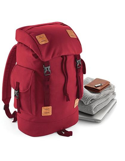 Urban Explorer Backpack - Rucksäcke - Freizeit-Rucksäcke - BagBase Black - Tan