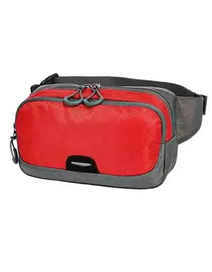 Waist Bag Step - Freizeittaschen - Hüfttaschen - Halfar Black