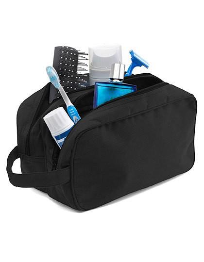 Kulturtasche Holiday - Freizeittaschen - Accessoires - Printwear Black