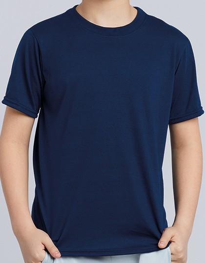 Performance® Youth T-Shirt - Sports & Activity - Basic Sport Shirts - Gildan Black
