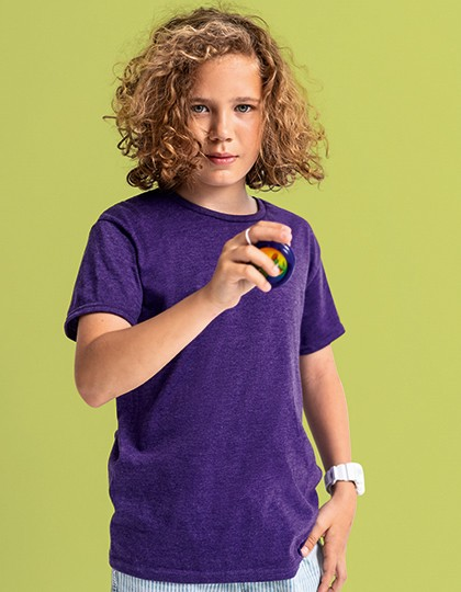 Kids Iconic T - Fruit of the Loom White