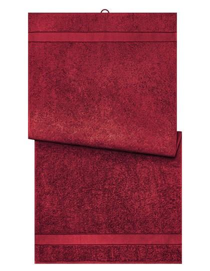 Bath Towel - Myrtle beach Red