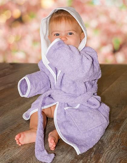 Babiezz® Bathrobe with Hood - Kinderbekleidung - Baby Lätzchen & Mützen - A&R Aqua Blue - Aqua Blue