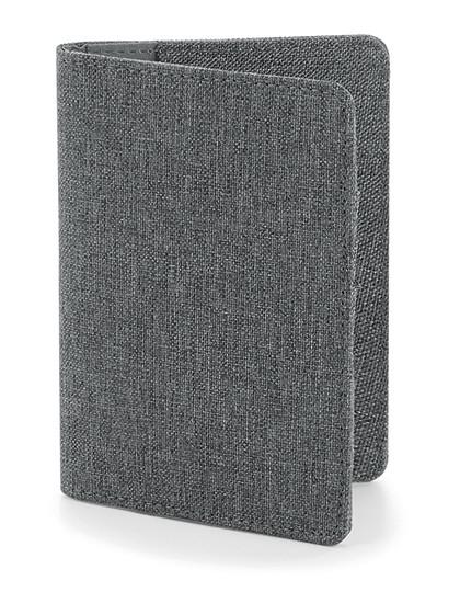 Essential Passport Cover - BagBase Black